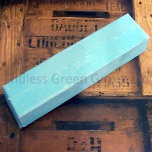 Details about Honing paste - Sharpen Tools With A Leather Strop - Smurf Poo  - BLUE BAR 750g
