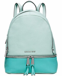 d9e8ac4d1eb3 Michael Kors Rhea Zip Colorblock Leather Backpack 30s6gezb1t for ...