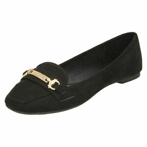 Ladies F8R0373 Slip On Casual Shoe By Spot On £12.99