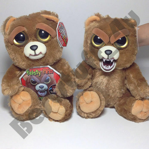 New Feisty Pets Glenda Glitterpoop Unicorn Plush Kids Children Funny Toy Gift a3