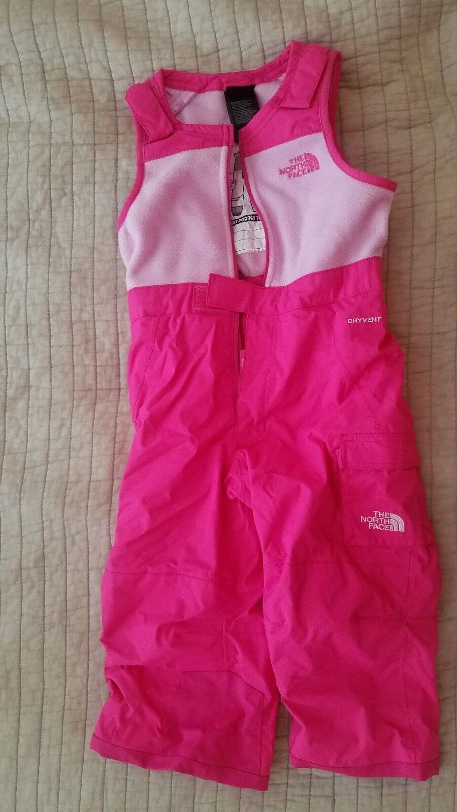 The North Face Kids  - Insulated Bib (Toddler) Girl's Snow Bibs Size 2  your satisfaction is our target
