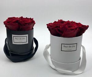 Exklusive Blumenbox, Rosenbox mit konservierten Rosen, Flowerbox, Valentinstag