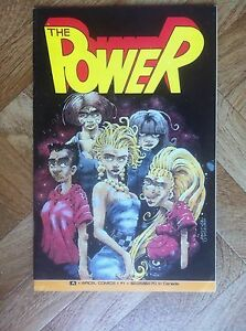THE-POWER-1-DAVE-COOPER-AIRCEL-COMICS-VF-NM-W1