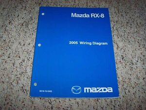 2005 Mazda RX-8 RX8 Factory Original Electrical Wiring ...