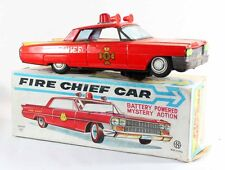 Japon FIRE CHIEF CAR    / jouet ancien antique toy