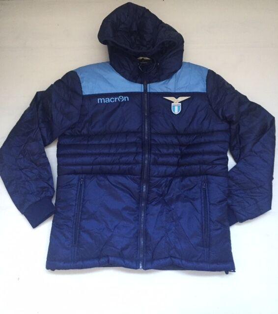 FW16 Lazio Macron Bomber Acolchado Jacket Coat Azul Nav   Cel Hombre Man   30