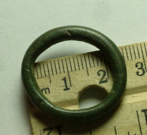Genuine ancient Celtic Greek proto ring money curency pre coin age 5 BC Danube