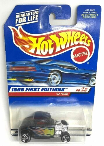 Hot Wheels 32 Ford Hot Rod 636 1998 First Editions 7 of 40 18587 New