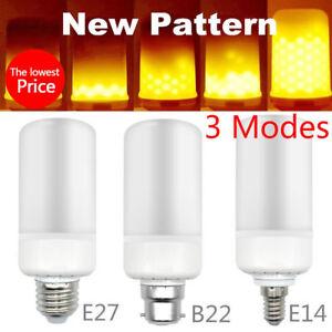 E27-E14-B22-Led-Brulant-Clair-Vacillant-Flamme-Ampoule-Lampe-Feu-Effet
