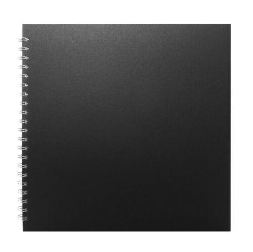 Pink Pig Display Sketchbook 270gsm 11x11in Black Cover Square