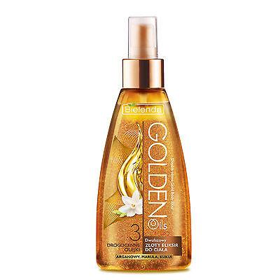 BIELENDA GOLDEN OILS luxuriöse zweiphasigen Goldelixier Öl für den Körper 150 ml
