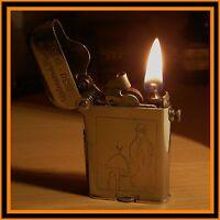 Briquet essence Thorens standard -Algérie 1930- RARE- vintage lighter Feuerzeug
