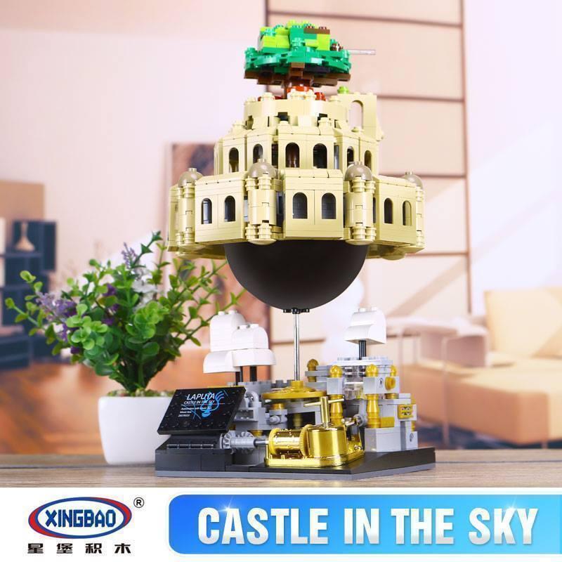 Xingbao Laputa Castle In The Sky Building 1179 Pcs - 05001 Bausteine Spielzeug