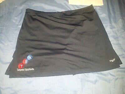 Pantaloncini Sportivi/gonna Donna Vintage 80s Palestra Casual Taglia 16 Xl H20 Blu Navy Foderato-mostra Il Titolo Originale