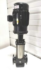 New Grundfos Cr5 10 5hp Inline Multi Stage Transfer Centrifugal Water Pump