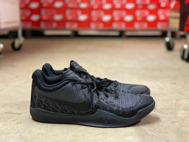 *NEW* Nike Kobe Mamba Rage Mens Size 8 Low Basketbal Sneaker Shoes Black