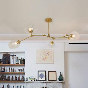 Details About Modern Flush Mount Ceiling Light Gold Chandelier Lighting Kitchen Pendant Light