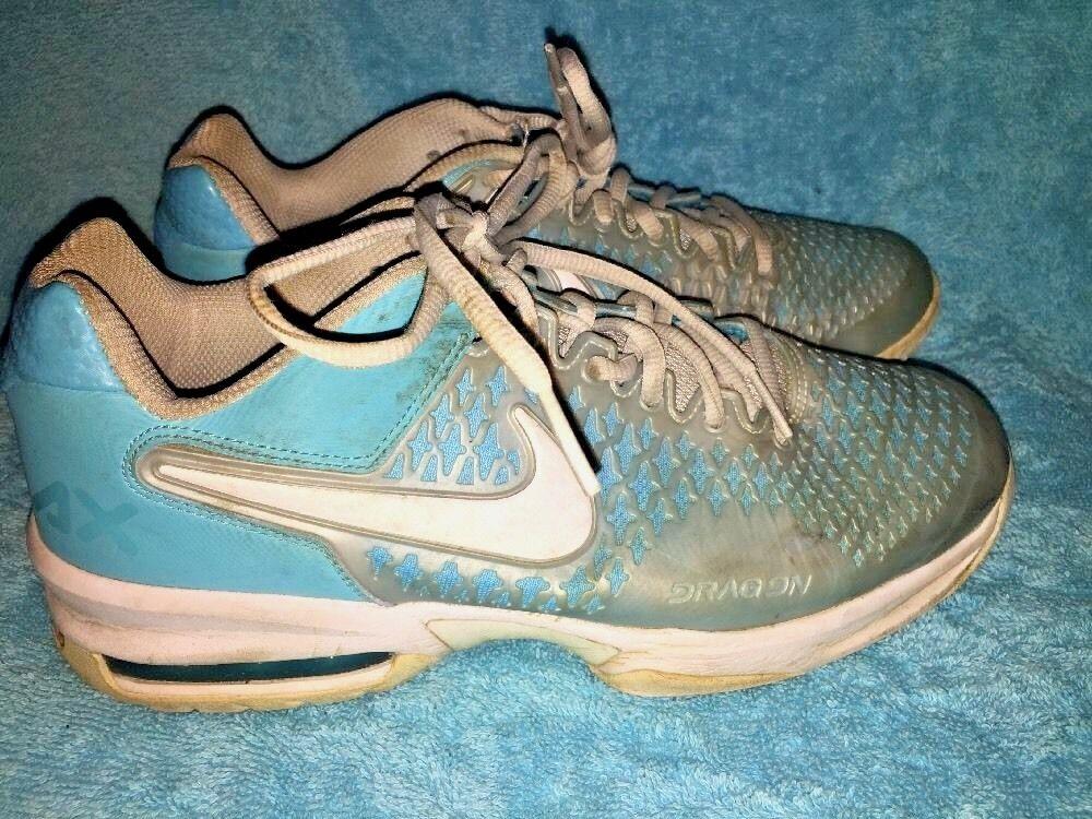 SALE @ NIKE AIR MAX CAGE Mint Aqua bluee Running Walk Basketball shoes Women Sz 8