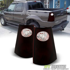 Details About Red Smoke 2001 2005 Ford Explorer Sport Trac Tail Lights Lamps 01 05 Left Right