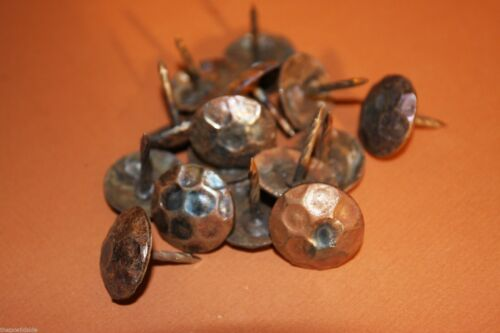 "Hammered Iron Round Head Clavos,Restoration 60 CL-1~ ,Rustic Nails 1/"" Clavos"