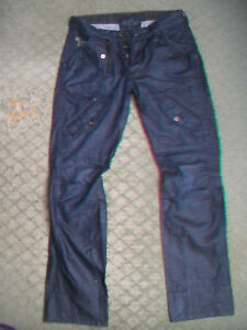 MENS-G-STAR-5620-SCUBA-TAPERED-JEANS-SIZE-31