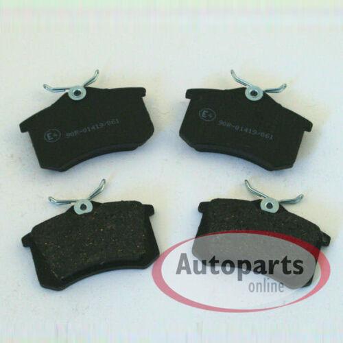 Bremsbeläge Bremsklötze Bremsen für vorne hinten Skoda Fabia