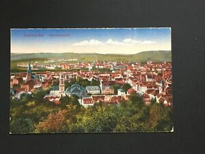 Postcard-Antique-Saar-Saarbrucken-Gesamtansicht