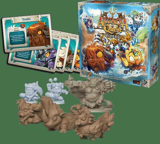 Arcadia Quest  Riders (Kickstarter Special) w  FREE SHIPPING