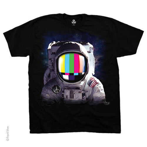 New SPACE STATION ASTRONAUT T Shirt