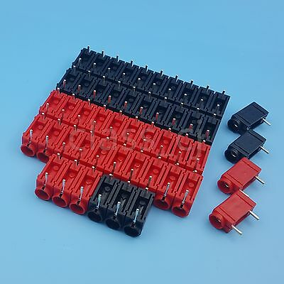 5Pairs Safe Type 4mm Insulated Banana Female PCB Mount Socket Connector