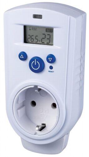 Raumthermostat Steckdosenthermostat Thermostat für Infrarot-//Elektro-Heizung