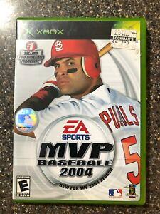 MVP-Baseball-2004-Microsoft-Xbox-2004-Complete-w-Manual-Tested-Working