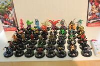 Avengers Assemble Full C/u/r Heroclix 1- 48 Miniature Set No Primes