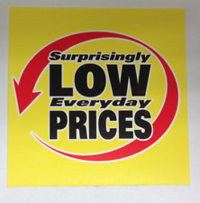Bogo Surprisingly Low Everyday Prices Display Sale Price Signs 4 X 4 50 Free