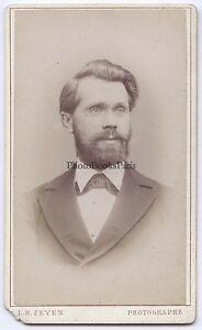 L. H. Zeyen Sughero Belgium CDV Vintage Albumina Ca 1885