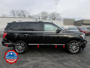2018-2020-Ford-Expedition-8Pc-Flat-Body-Side-Molding-Trim-Stainless-Steel-1-1-2-034