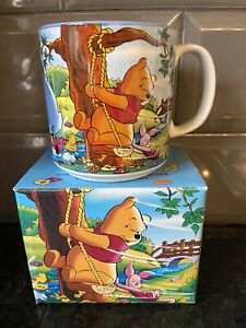 Vintage Walt Disney Classics Winnie The Pooh Playground Mug Boxed Collectors