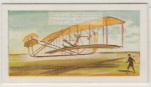 1903-Wright-Brothers-First-Aeroplane-Flight-Kitty-Hawk-Vintage-Ad-Trade-Card