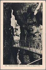 ANNECY Galeries des Gorges du FIER 74 Haute-Savoie CPA Éditions Fauraz 1920-1930