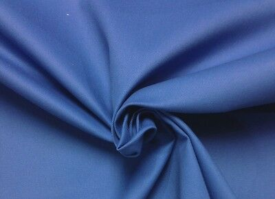 """MARINERS COTTON DUCK CANVAS COBALT BLUE 13 oz  MULTIUSE FABRIC BY THE YARD 55/""""W"""