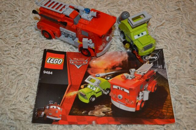 LEGO RED WATER RESCUE 9484 RETIRED RARE Complete Set