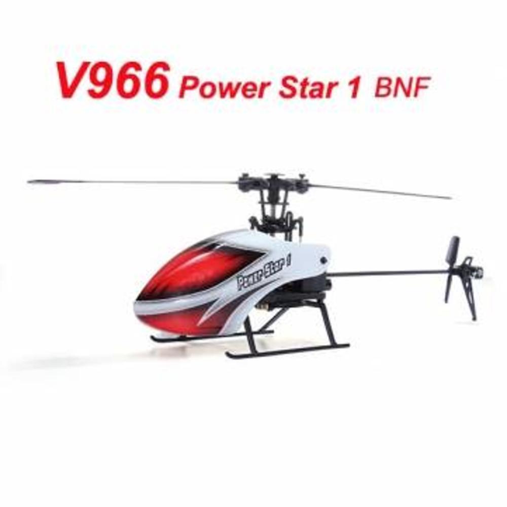 WLtoys V966 Power Star 1 6CH 6-Axis Gyro Flybarless RC BNF