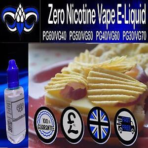 Details about Cheese & Onion VG/PG Vape - E liquid Vape Juice 0mg Nicotine  10ml 30ml 250ml