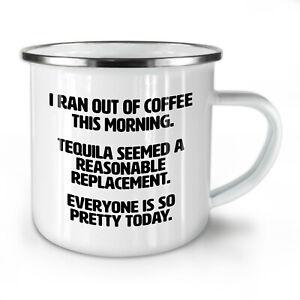 Coffee Tequila NEW Enamel Tea Mug 10 oz | Wellcoda