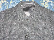 Authentic Crombie Tweed Lana Cappotto sotto copertura auto Pea MAC Giacca 42/44 CORTO VINTAGE
