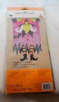Flag Garden Halloween 28 X 49 By Celebrate It Witch Indoor/outdoor 10e