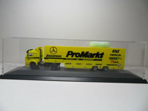 MB Sattelzug Pro Markt Zakspeed Herpa 1:87 211HO in PVC Box
