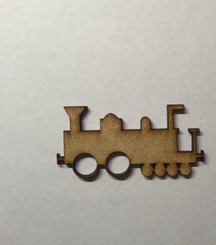 train laser cut 3mm MDF WOODEN SHAPE Wood Craft blank Arts Decoration blank