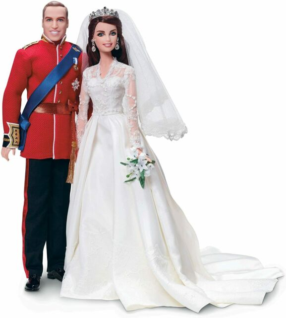 Barbie And Ken Duke Of Cambridge William And CATALINA (Collectors Edition)