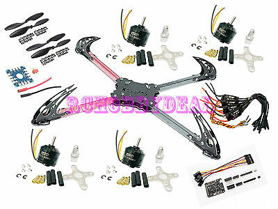 600mm X525 V3 4-axis QuadCopter Glass Fiber Folding Kit w/ Naze 32 Acro Rev6